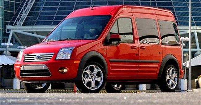 Euro-style Ford van wins fans