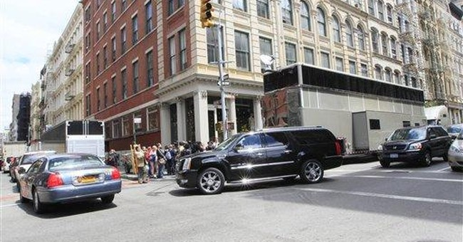 Will Smith's trailer hits road amid NY complaints