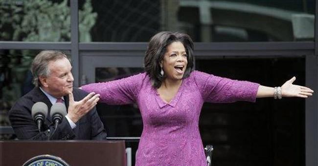Chicago mayor names street 'Oprah Winfrey Way'