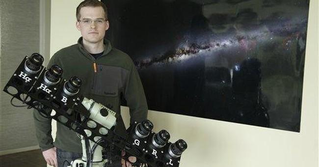 The night sky in 37,440 exposures