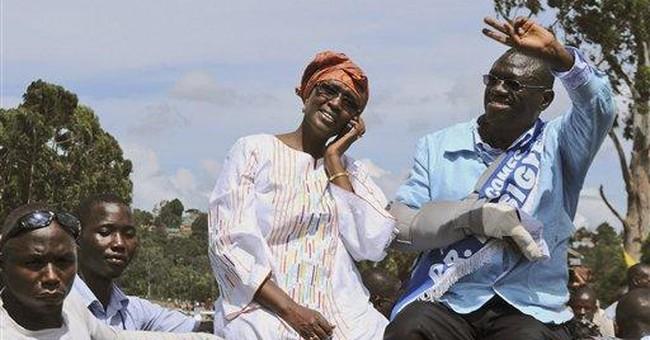 Uganda opposition leader under house arrest: wife