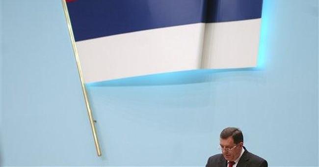 AP Exclusive: Bosnian Serbs may cancel referendum