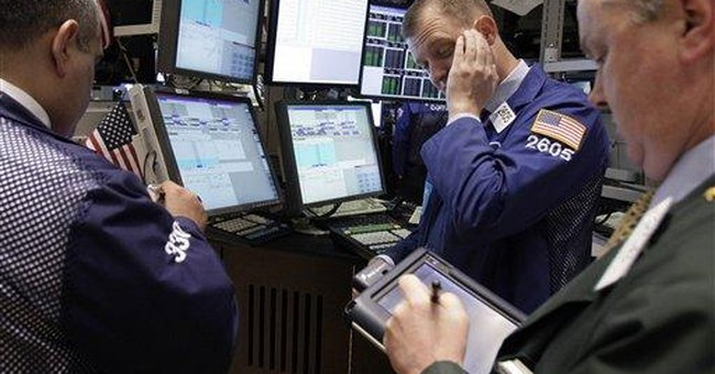 Stocks edge higher as commodity slide eases