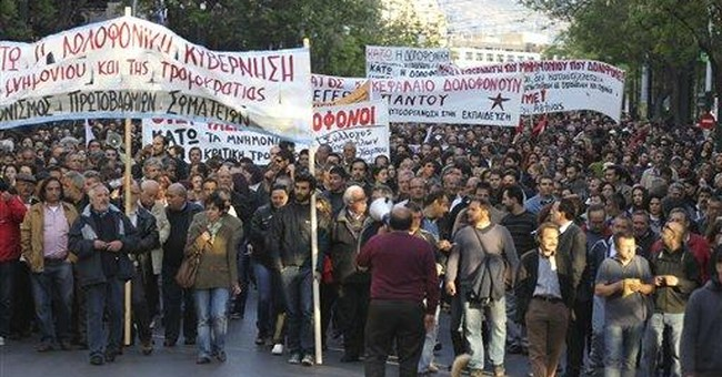 Far-right protest in Athens turns violent