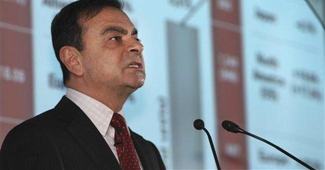 Nissan posts $380 million quarterly profit