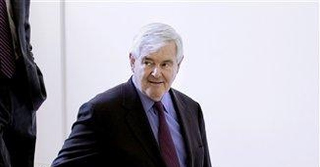 FACT CHECK: Gingrich sketches a too-rosy past