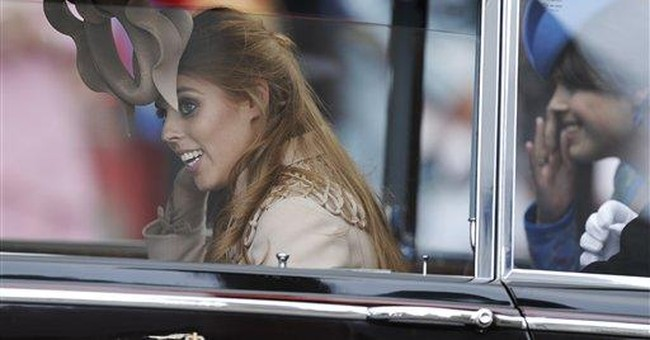 Princess Beatrice's wedding hat to be auctioned