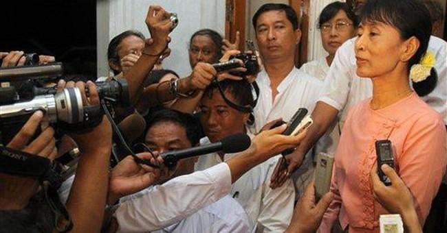 UN envoy meets Myanmar's pro-democracy leader