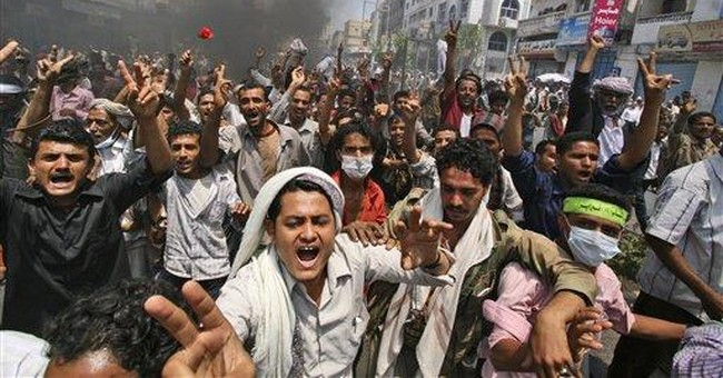 Witnesses: 2 killed, dozens hurt in Yemen protest
