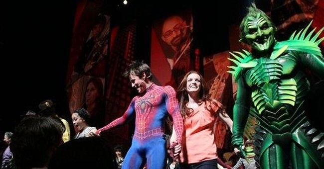 'Spider-Man' musical posts respectable numbers