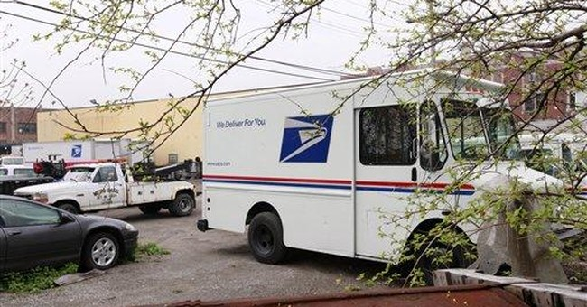 APNewsBreak: Charges don't stop USPS contractor