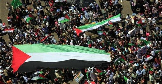 Thousands protest for Palestinian right of return