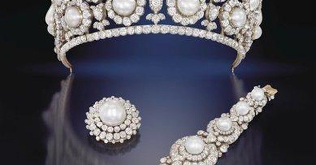 Jewels from one of Britain's richest women on sale