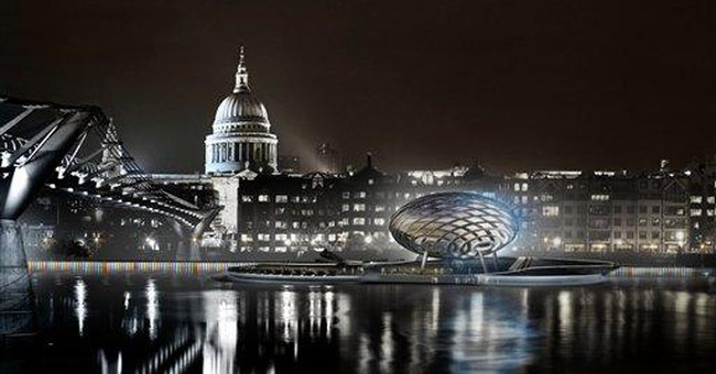 London plans floating walkway on River Thames