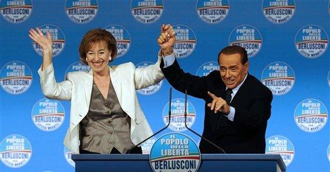 Berlusconi turns local election into personal test