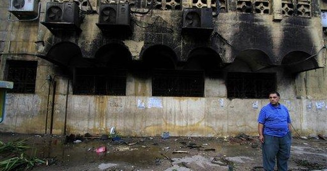 Christian-Muslim affair tests Egypt's revolution