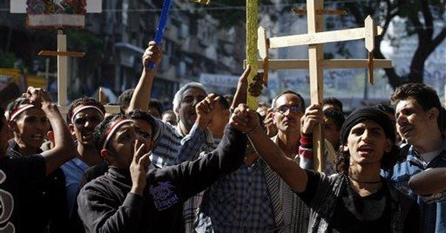 Egypt's Christian leader calls for end of sit-in
