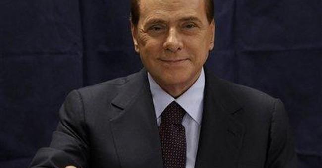 Berlusconi makes local vote test for him