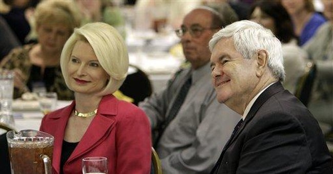 Gingrich urges talk about his personal failings