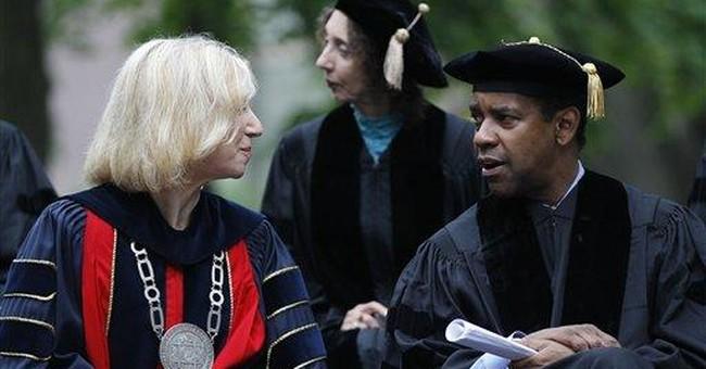 Denzel Washington receives honorary Penn degree