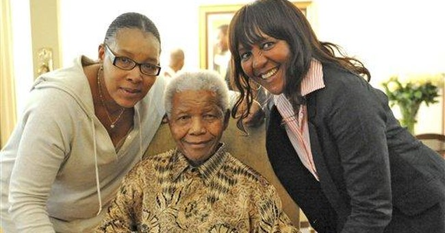 South Africa's Mandela votes early in local polls