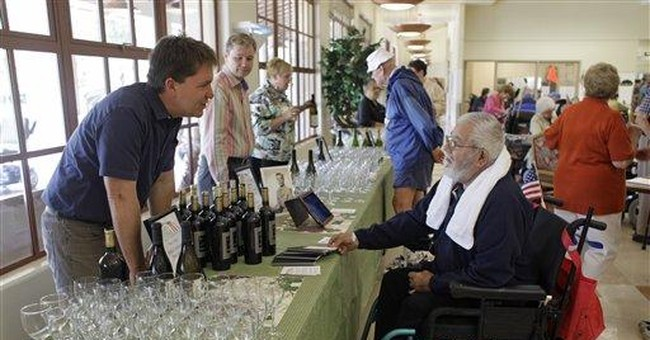 Vintners rally to supply wine for veterans