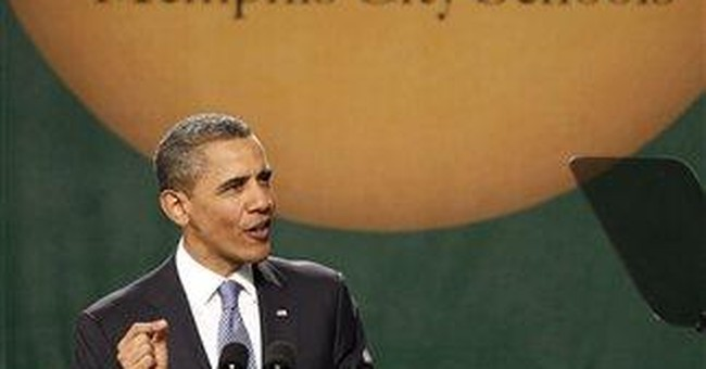 Obama tell Memphis students their success inspires