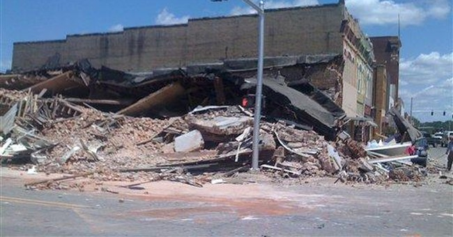 2-year-old girl killed in Ark. building collapse