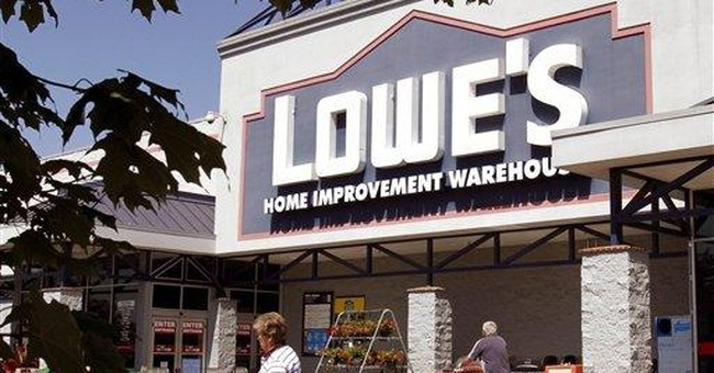 Cold and rain put chill on Lowe's 1st-qtr profit