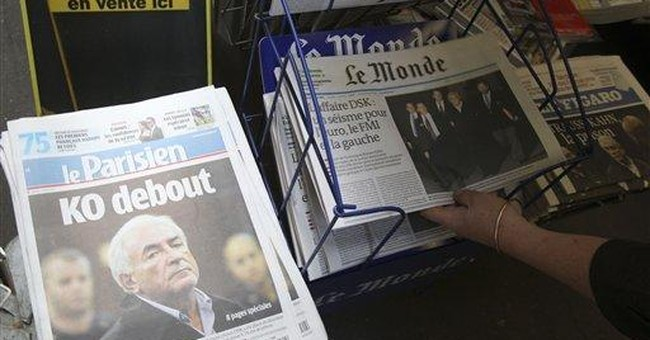 French agape over treatment of jailed IMF chief