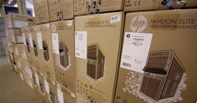 HP cuts outlook on services revamp, slow PC sales