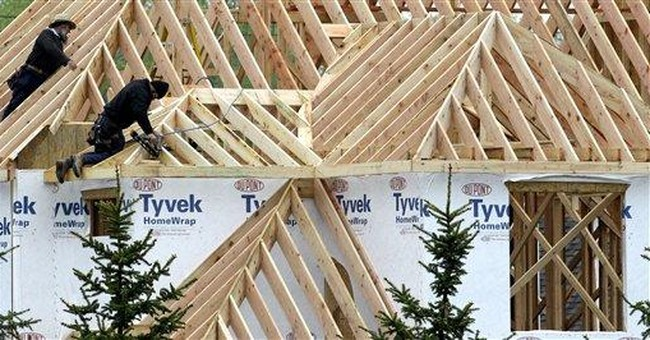 Homebuilders missing out on economic recovery
