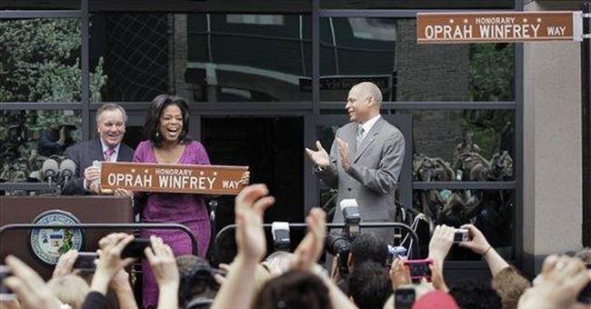 Star-studded Oprah Winfrey taping set in Chicago