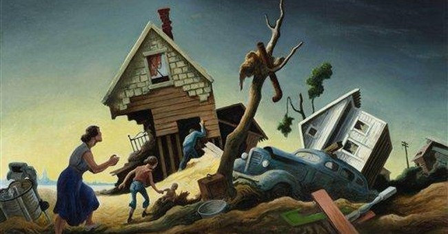 1951 flood painting sells for nearly $1.9M in NYC
