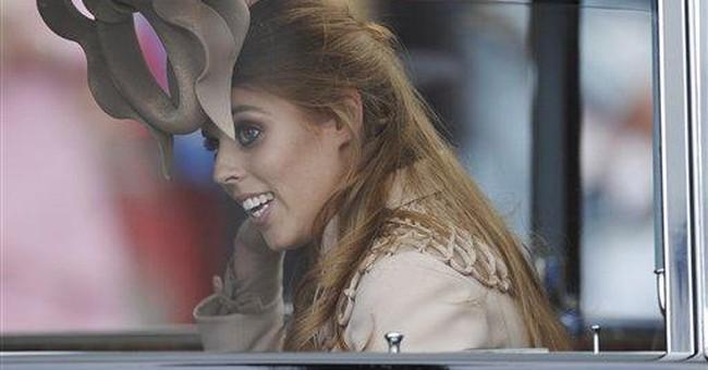 Bids for bizarre royal wedding hat pass $120,000