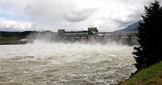River rises; Northwest wind farms, plants cut back