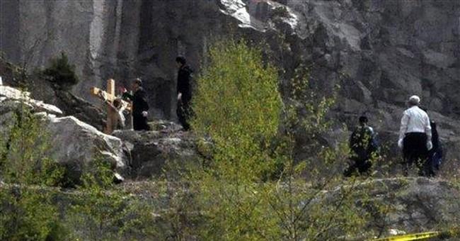 Police say crucified SKorean likely killed himself