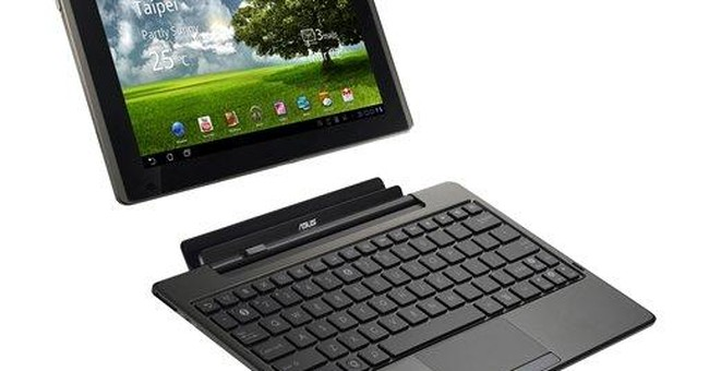 Review: Eee Pad tablet transforms into laptop