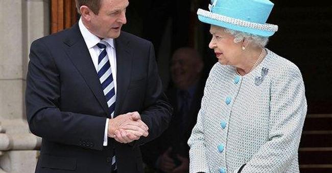 Queen expresses 'deep sympathy' in Irish speech