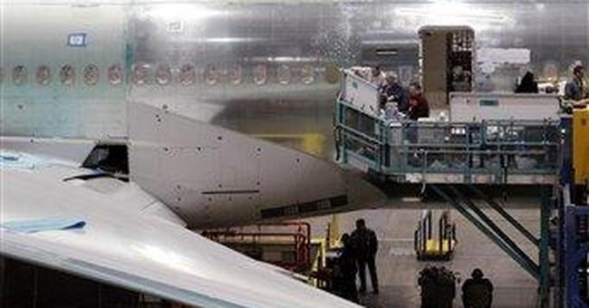 Boeing sells 10 big planes