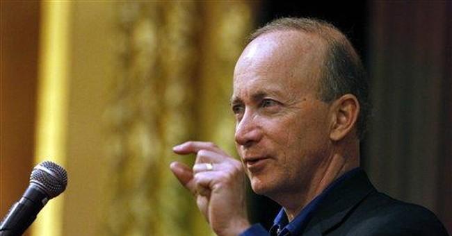Gov. Daniels says US debt threatens American dream