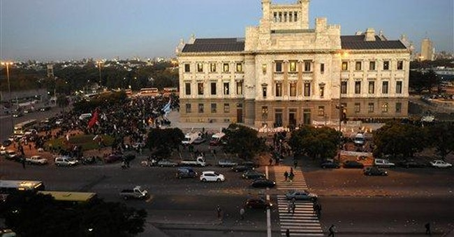 Uruguay's Congress upholds military amnesty