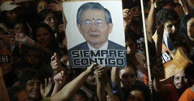 Shadow of disgraced president looms in Peru race