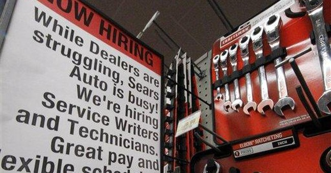 Unemployment falls in three-quarters of US states