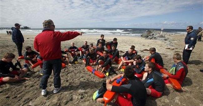 Lifeguards' high pay riles Calif. beach city