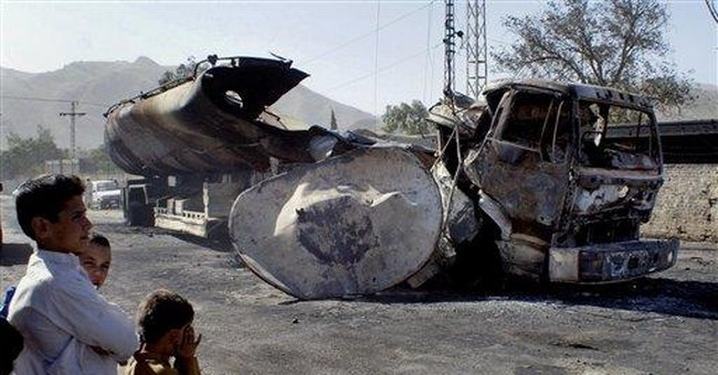 NATO fuel tanker explodes in Pakistan, killing 15