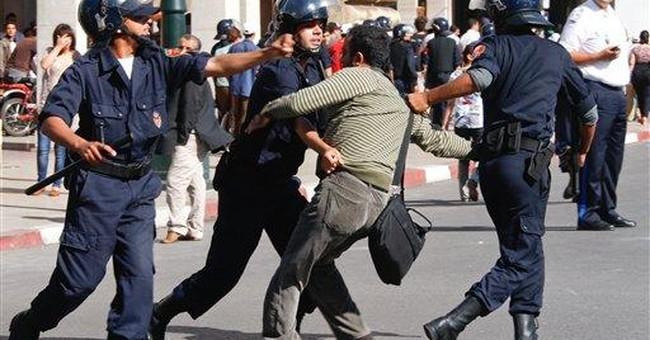 Police disperse democracy demos in Morocco capital