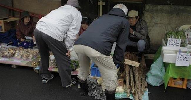 Local market bonds tsunami-hit community in Japan