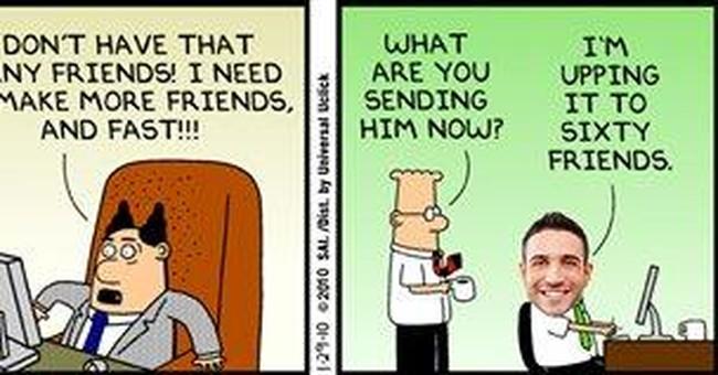 Dilbert embraces deep personalization