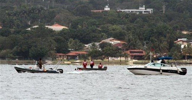 Boat sinks in Brazil lake; 1 dead, 7 missing